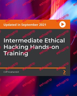Packt Intermediate Ethical Hacking Hands on Training