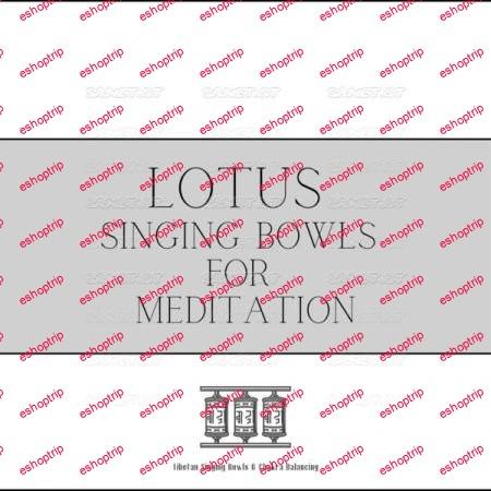 Tibetan Singing Bowls Chakra Balancing Lotus Singing Bowls for Meditation 2021