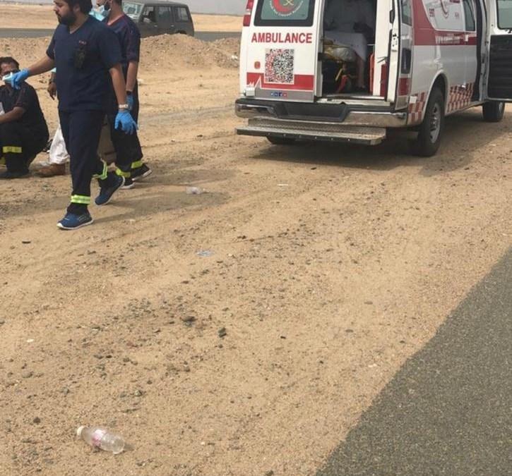 إصابة 7 أشخاص في حادث تصادم بجدة