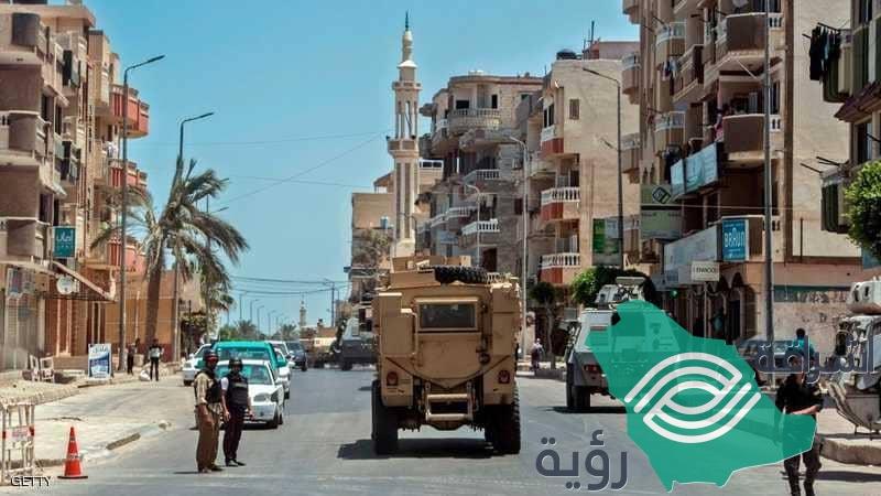 مصر : مقتل أربعة إرهابيين في مواجهة البيت المهجور