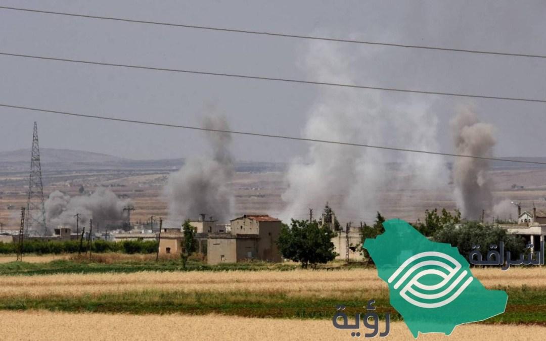 قصف على سوريا يؤدي لمقتل ٢٨ شخصاً