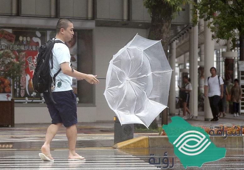الإعصار كروسا يصل إلى اليابسة ويصيب غربي اليابان بحالة شلل