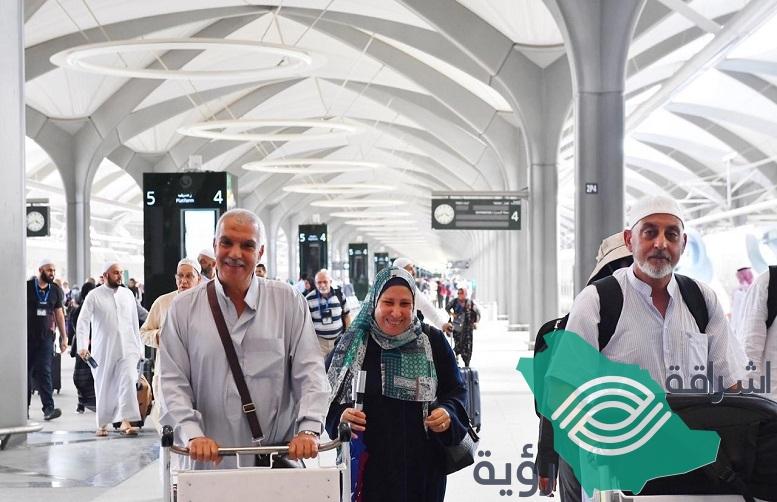قطار الحرمين السريع ينجح في نقل الحجاج بين مكة والمدينة للمرة الأولى