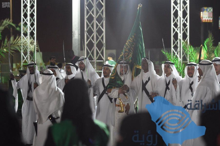 انطلاق أولى فعاليات احتفالات اليوم الوطني بالمدينة المنورة