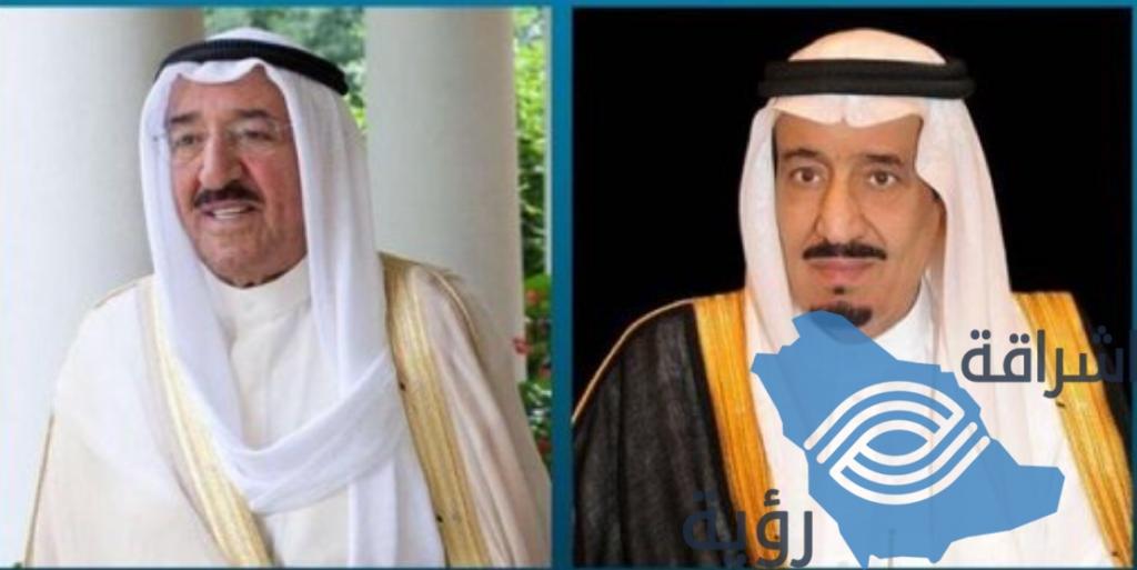 أمير الكويت يتلقى التهنئة بمناسبة عودته ليلاده باتصال هاتفي من خادم الحرمين الشريفين