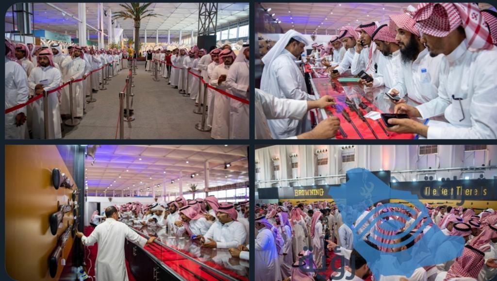 انطلاق معرض الصقور والصيد السعودي في نسخته الثانية .. مع تصدر الأسلحة بأكثر من 30 ألف زائر