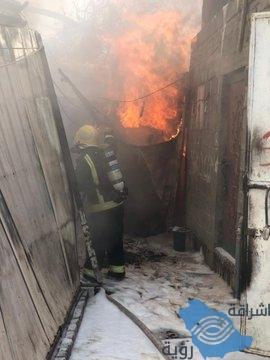 """""""مدني نجران"""" إخماد حريق بسكن عمال دون وقوع اصابات اشتعل بسبب إهمال أثناء الطهي"""