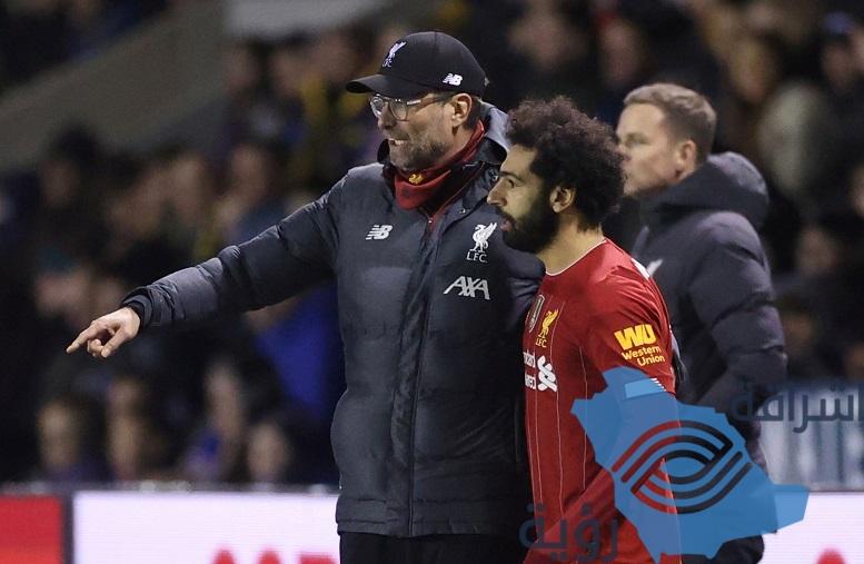 مدرب ليفربول يعلن عدم إشراك أي لاعب من الفريق الأول في مباراة الإعادة أمام شروزبري