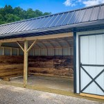 Run In Sheds Horse Run Ins In Ky Tn Esh S Utility Buildings