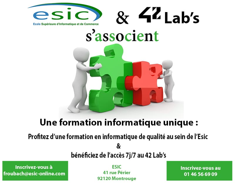 Etudier l'informatique au 42 Labs Paris