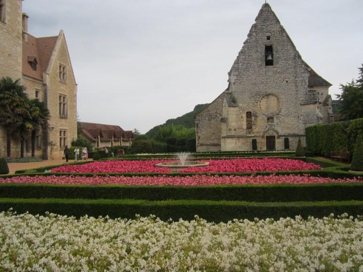 Jardines del Chateau des Milandes