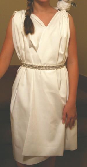 Homemade Athena Costumes Girls