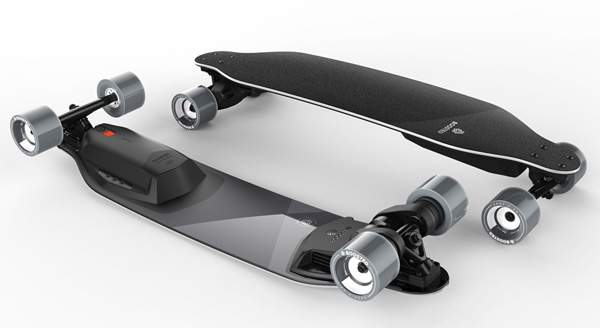 Boosted Board 2018 Concept - Grey