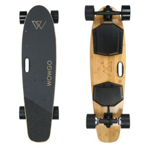 WowGo KT Electric Skateboard Front and Back