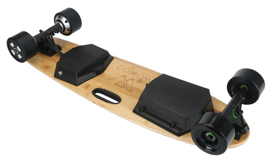 WowGo KT electric skateboard underneath