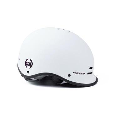Noblemantech K2 Half Face Helmet in white