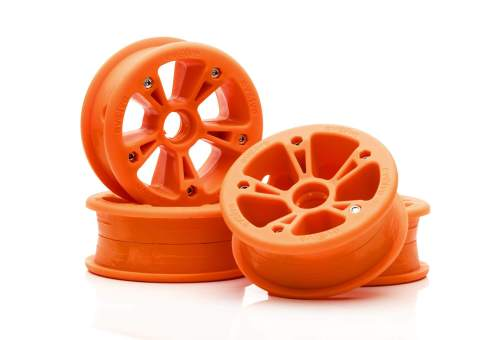 Evolve GTR AT hubs orange