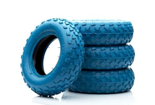 Evolve GTR AT tires dirt blue