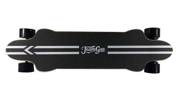 Teamgee H20 electric skateboard top