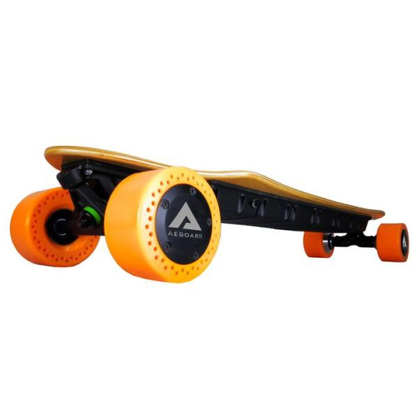 AEboard AX Plus electric skateboard front wheels