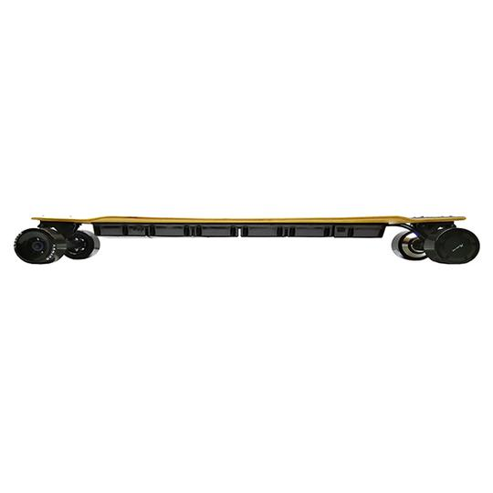 AEboard AX electric longboard side profile view