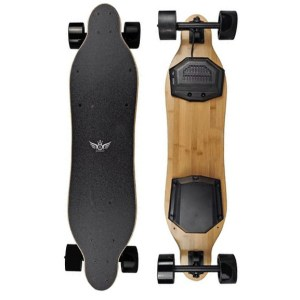 Apsuboard F3 electric longboard top of deck and unerneath