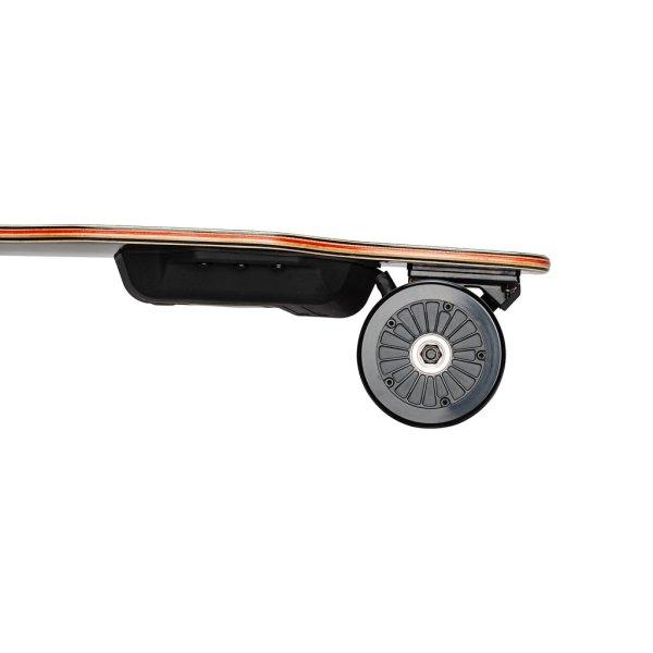 Backfire G2 Black electric skateboard rear motors