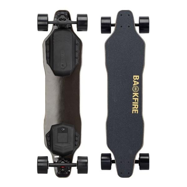 Backfire G2 Black electric skateboard