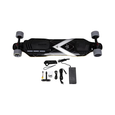 Backfire G3 electric skateboard conponents in box