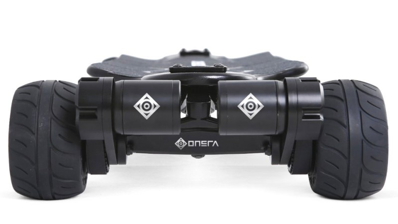 Onsra Black Carve Belt Electric Skateboard motors