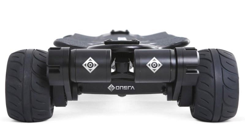 Onsra Black Carve Belt Electric Skateboard motors