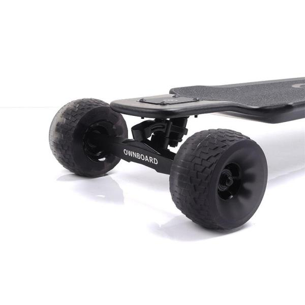 Ownboard Carbon AT electric skateboard cloud wheels