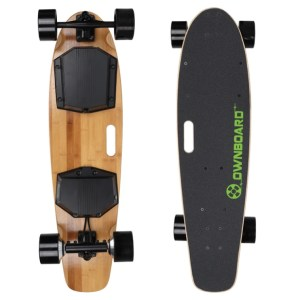 Ownboard W1AS KT electric skateboard top and underneath