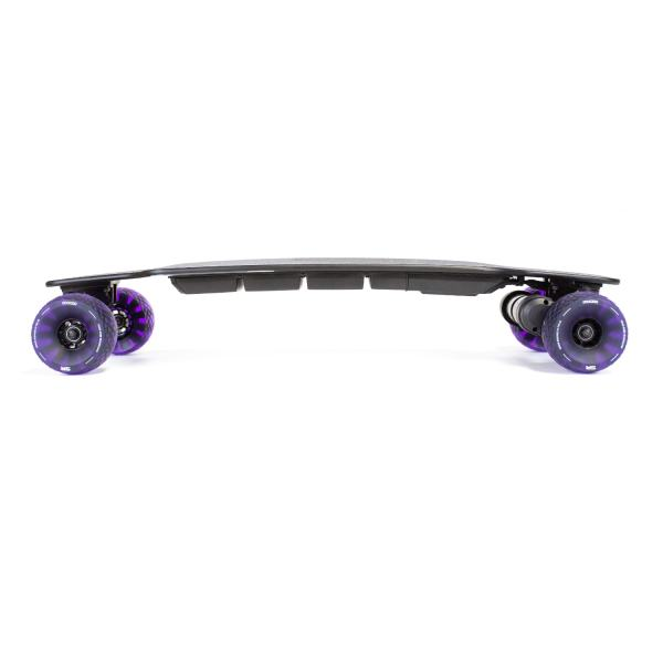 Slick Revolution Urban Carver electric skateboard side profile view