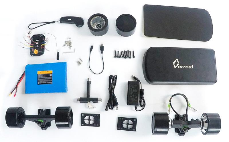 Verreal F1 DIY Electric Skateboard Conversion Kit