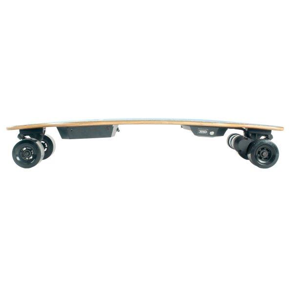 Yecoo 2S electric skateboard side profile