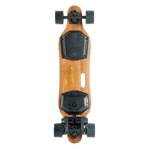 Yecoo 2S electric skateboard underneath deck