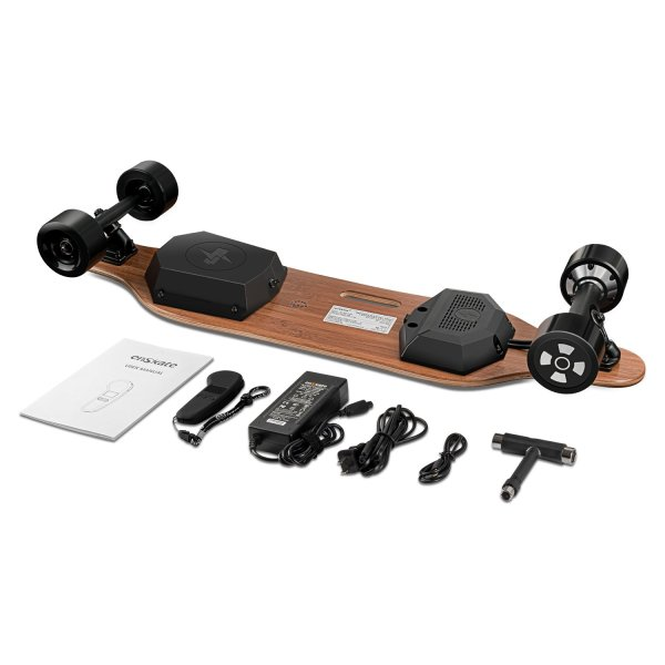 enSkate R2 electric skateboard contents in the box