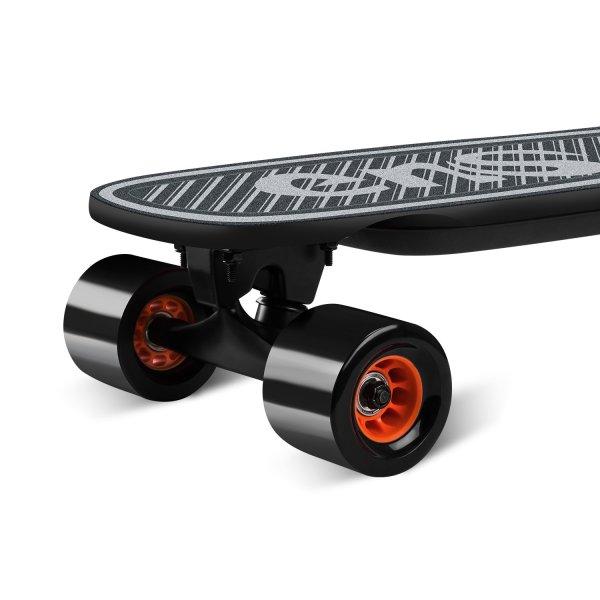 enSkate Woboard Mini electric skateboard front wheels and trucks