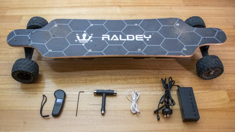 Raldey Mt-V3 Box Contents