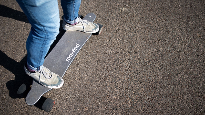 maxfind max4 pro electric skateboard feature