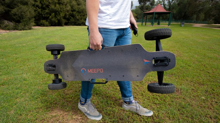Carry handles on the Meepo City Rider 2