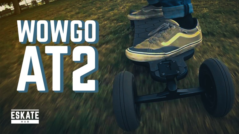 WowGo AT2 Electric Skateboard Review
