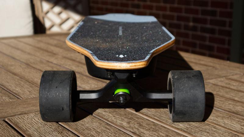 WowGo 2S Pro - deck concave