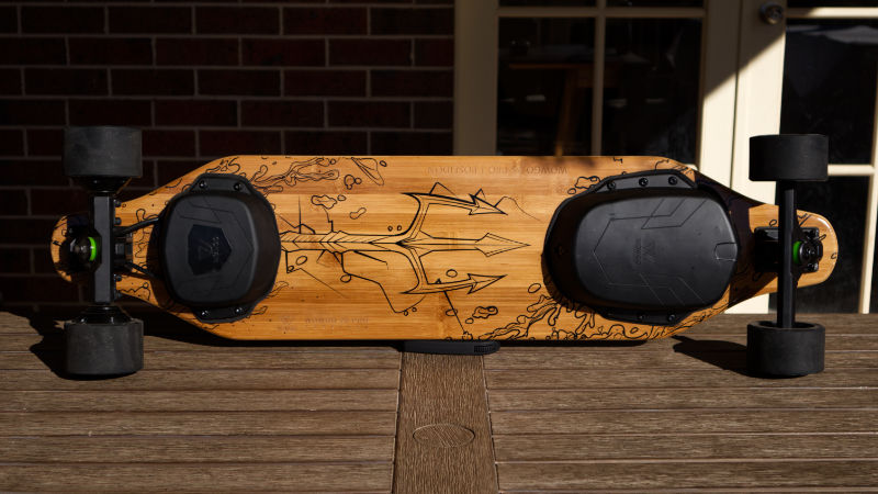 WowGo 2S Pro - whole deck underneat