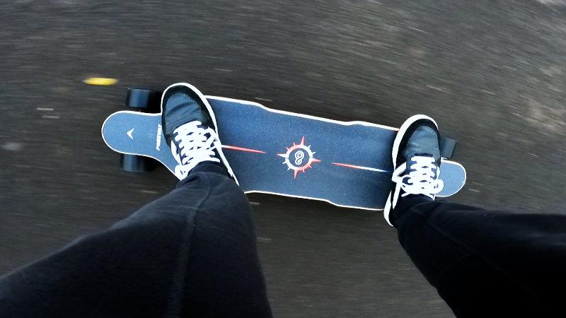 Riding the Possway V4