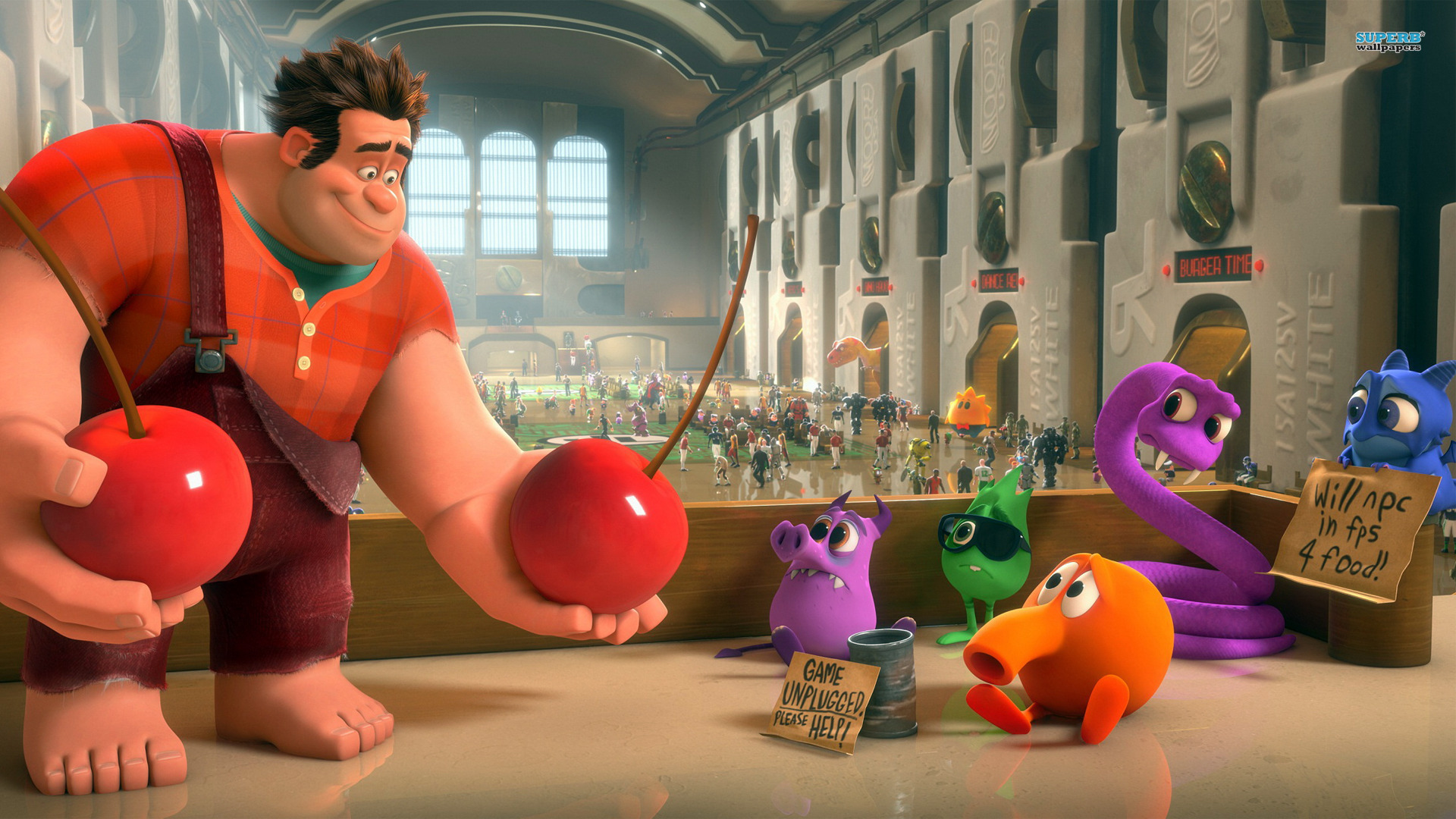 Image result for wreck it ralph 1920x1080