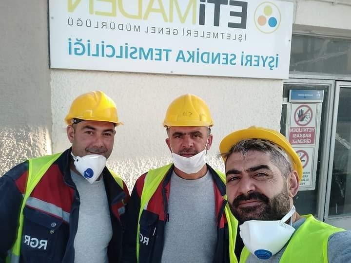 Kırka'da iş kazası