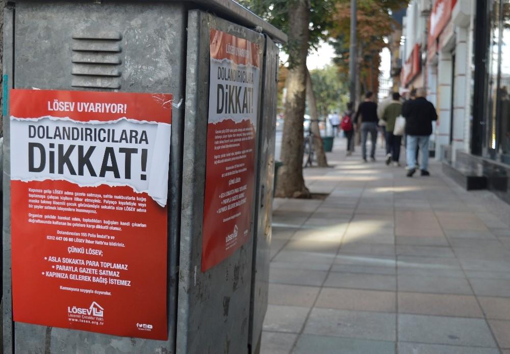LÖSEV'den 'maskeli çocuk' dolandırıcılığına uyarı
