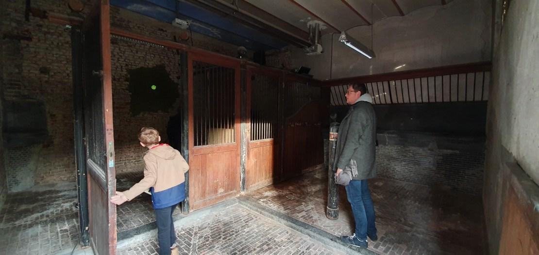 Oude paardestallen - Tacktoren - Kortrijk